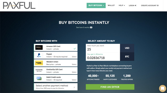 Buy Bitcoin Easily and Instantly