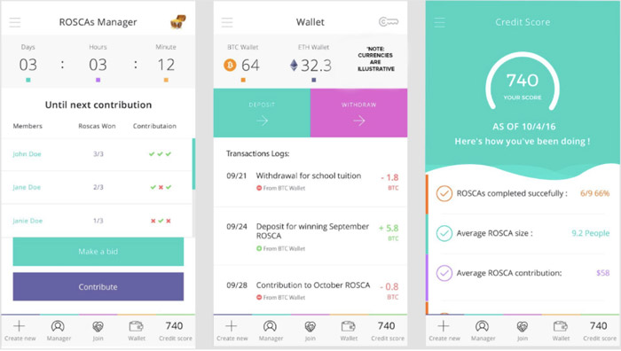 WeTrust Mobile App 2
