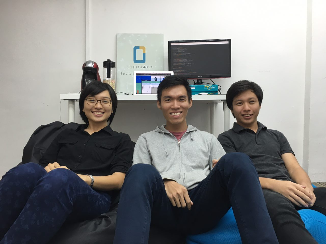 CoinHako's summer interns in Singapore