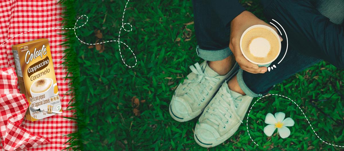 Cappuccino caramelo evoca tus momentos