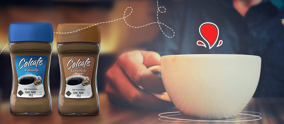 Colcafe vainilla y colcafe caramelo nuevos sabores