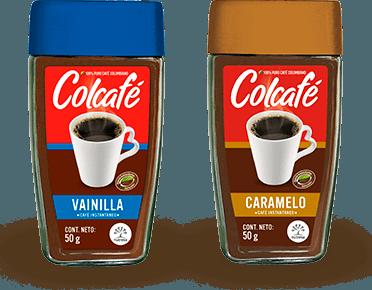 Colcafé saborizado