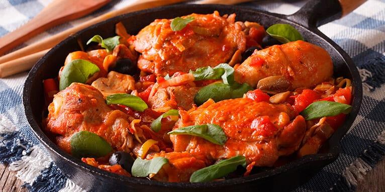 Cacerola de pollo a la colcafé