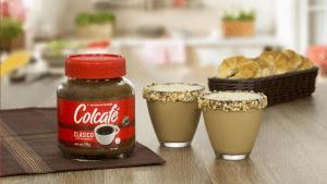 Receta Batido de frutos secos con Colcafé