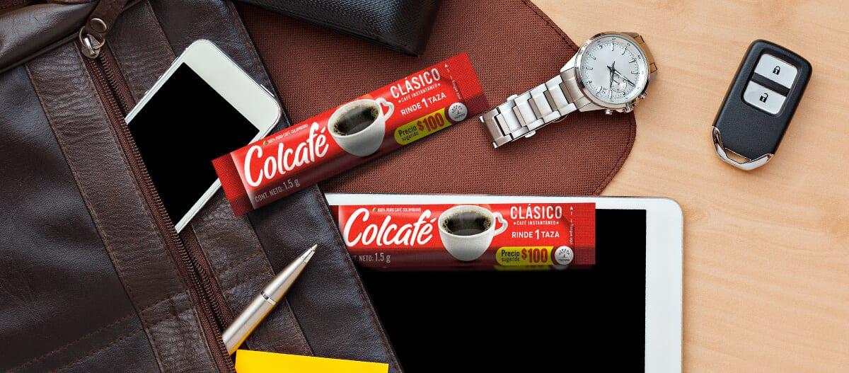 Manera de disfrutar del café llevandolo en el bolso