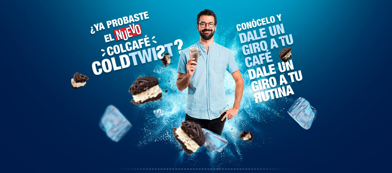 Dale un giro a tu rutina con el nuevo Colcafé ColdTwist! - Colcafé te consiente