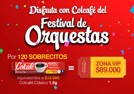Disfruta con Colcafé del Festival de Orquestas