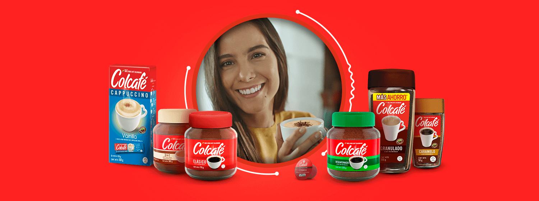 Escoge ser tú con la gran variedad de Colcafé