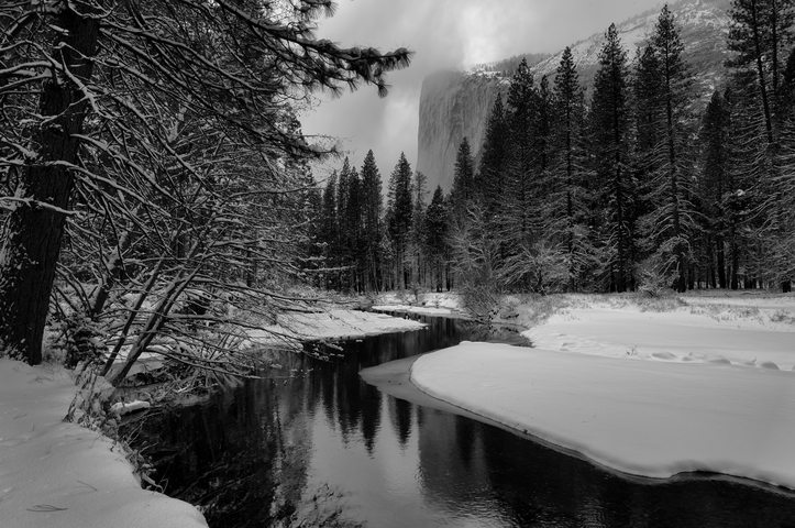 El capitan merced river yosemite national park