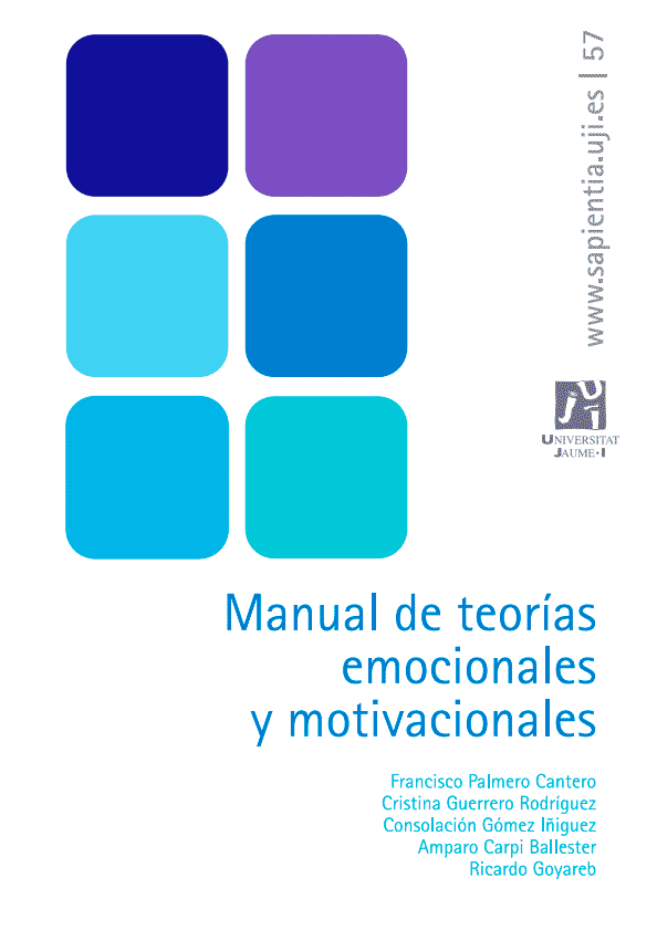 Manual de Teorías Emocionales y Motivacionales