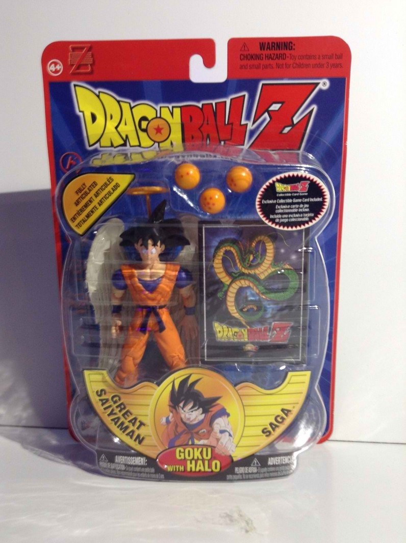 goku with halo dash action figures. Black Bedroom Furniture Sets. Home Design Ideas