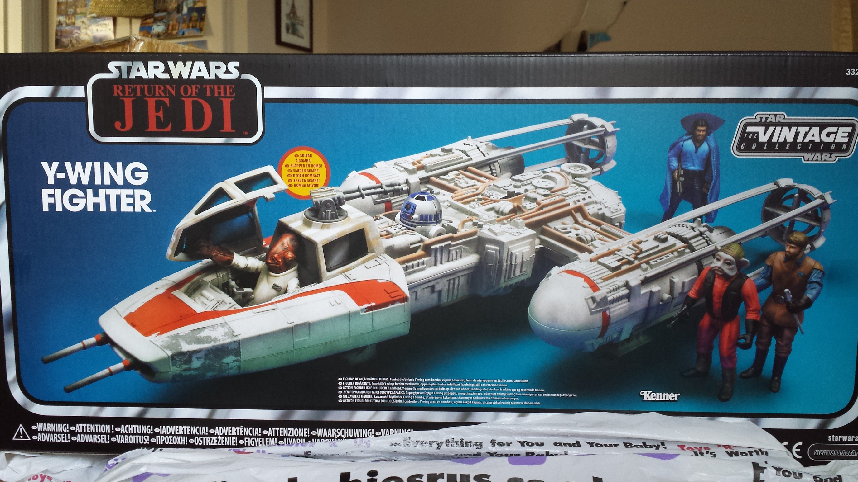 Bombe 94 se rapportant à y-wing fighter (toys 'r us exclusive) - - dash action figures