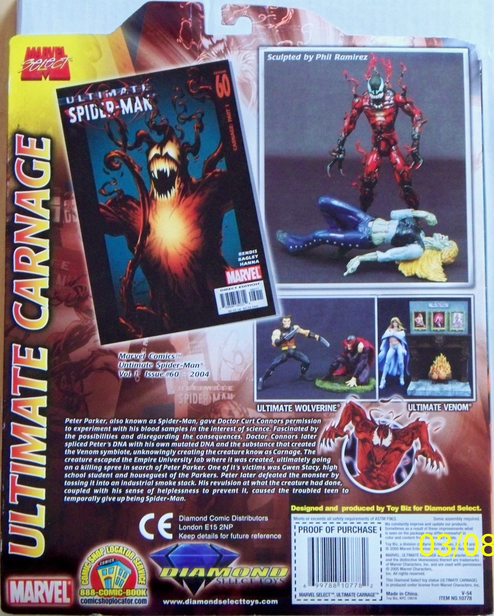 ultimate carnage dash action figures