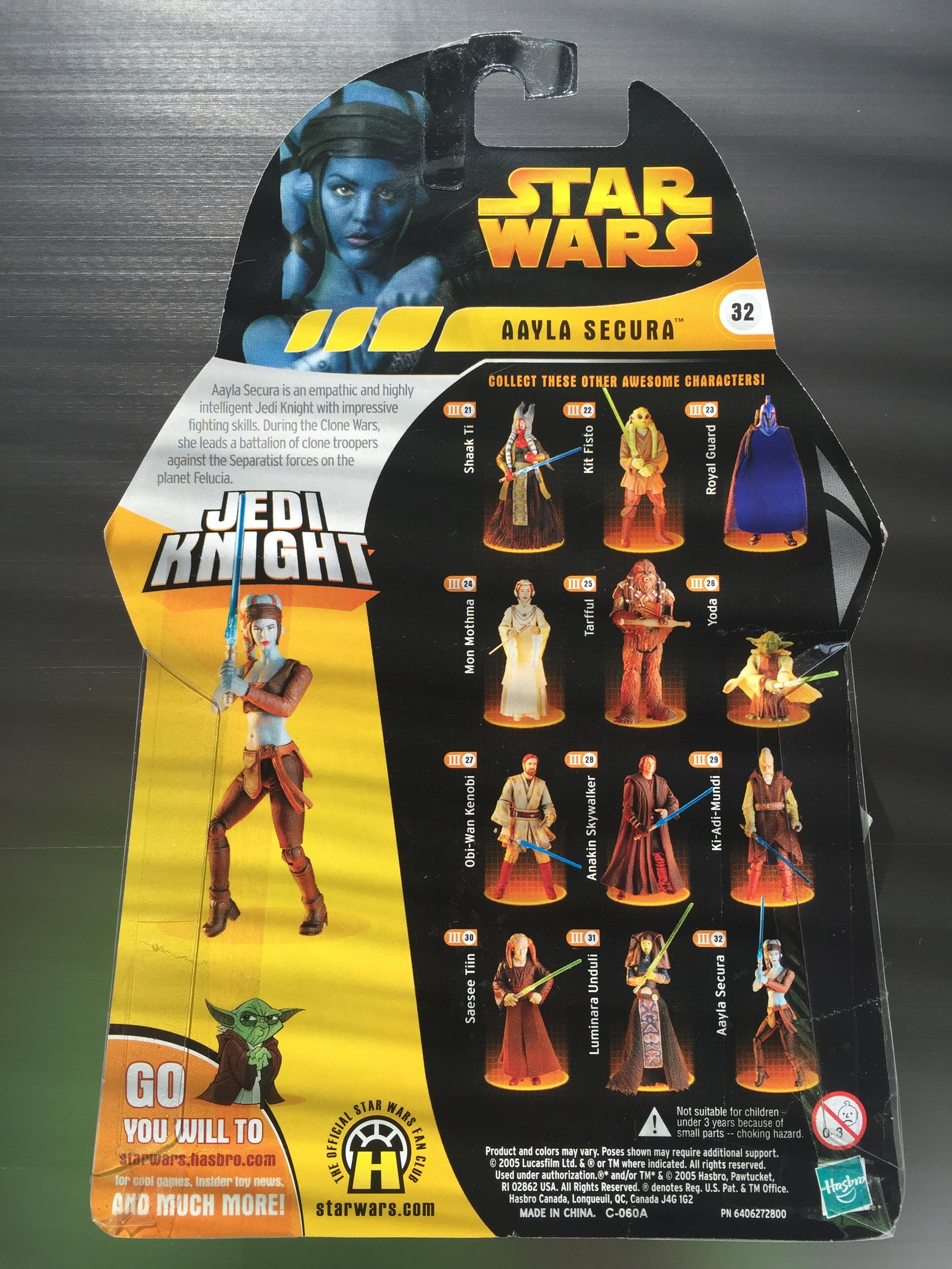 Aayla Secura - Jedi Knight - - DASH Action Figures