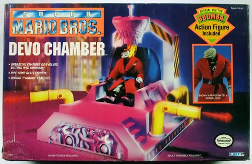 Devo Chamber With Special Edition Goomba Dash Action Figures
