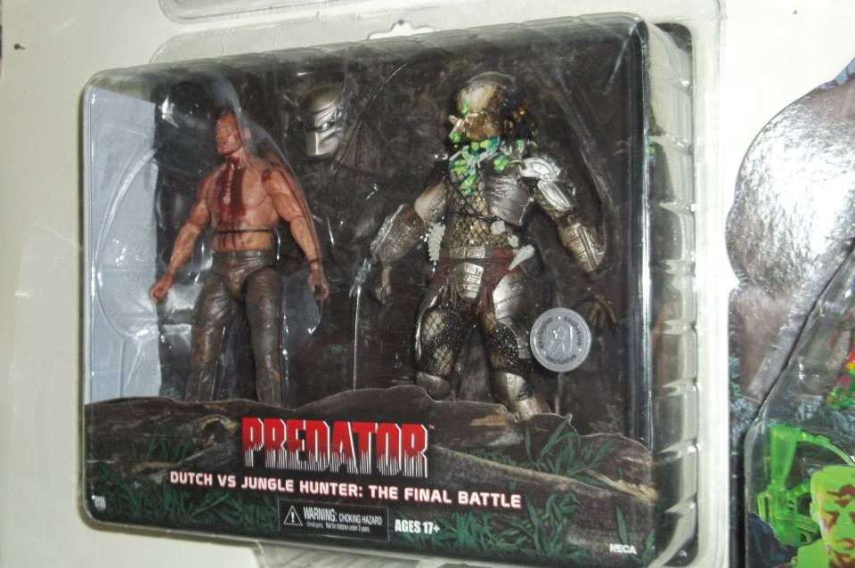 Predator Toys R Us : Final battle dutch vs jungle hunter predator pack