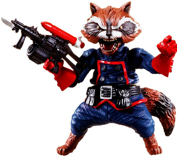 Marvel, Rocket Raccoon BAF Action Figures Catalog - DASH