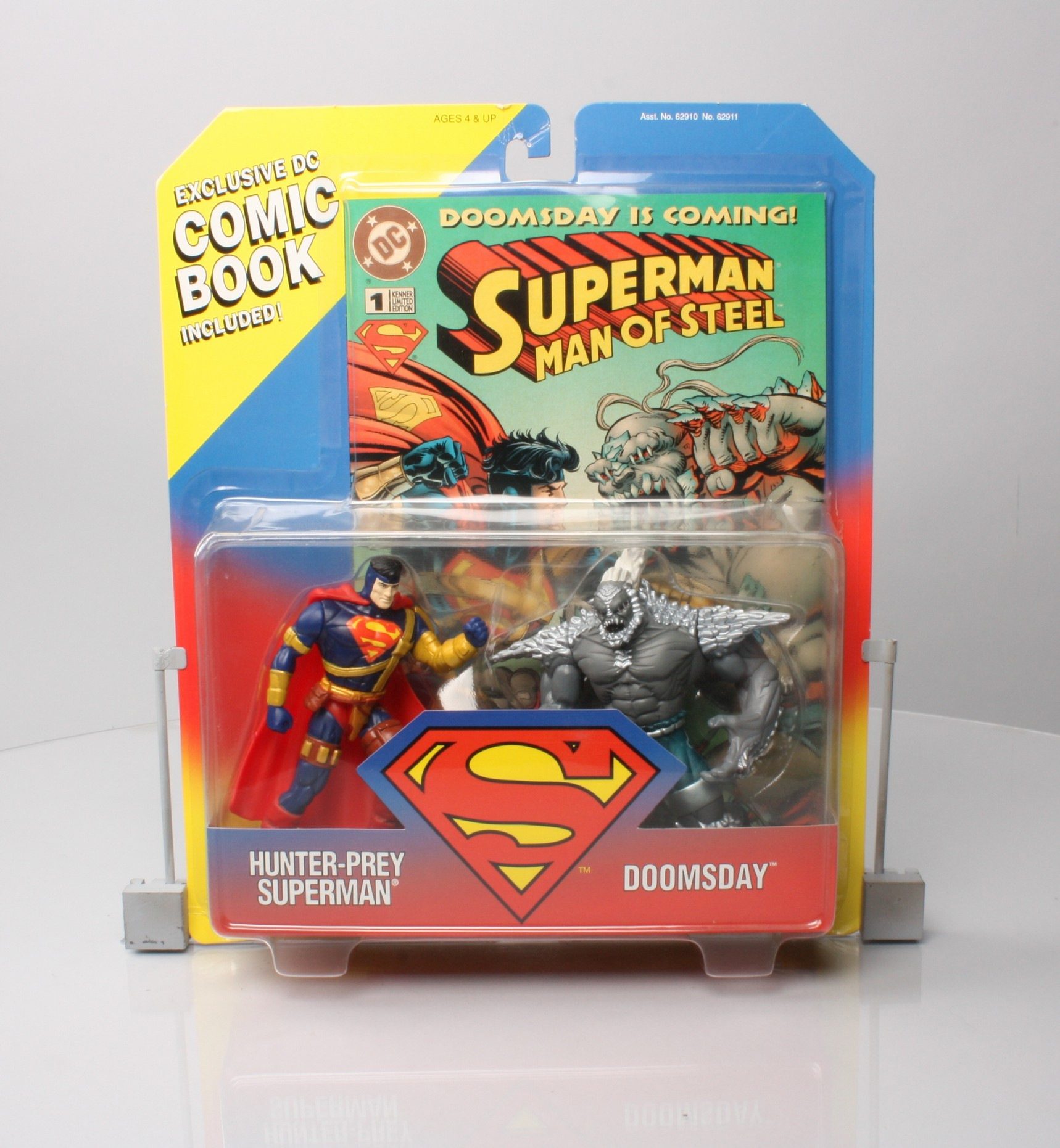Hunter Prey Superman Doomsday Exclusive Dc Comic Book Included