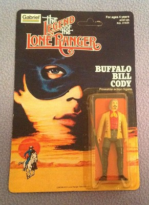 Lone Ranger, The Legend of the Lone Ranger Action Figures