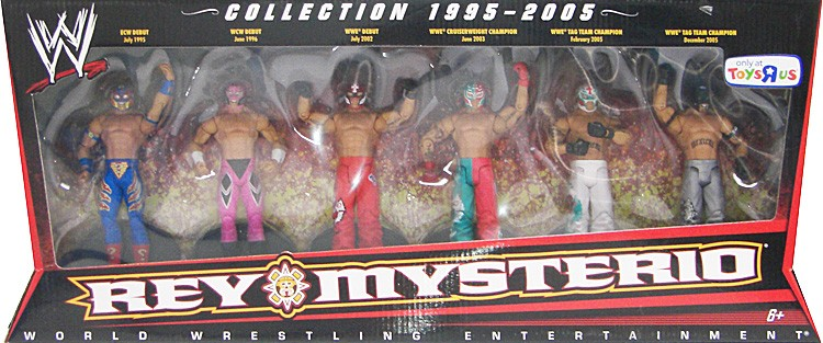 Rey Mysterio 1995-2005 Six-Pack (Toys R Us Exclusive ...