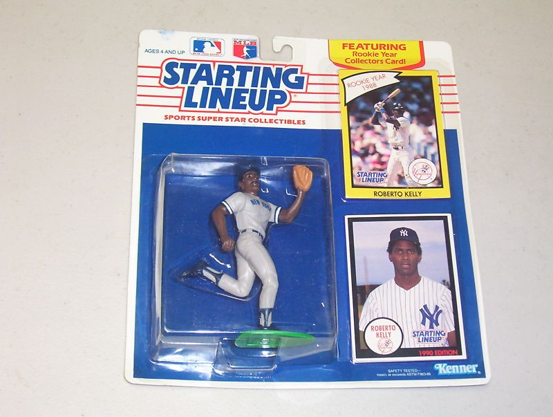Roberto Kelly Dash Action Figures