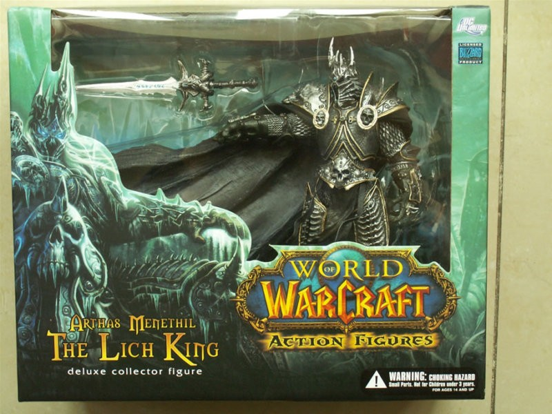 Wow World Warcraft Arthas Menethil The Lich King Deluxe