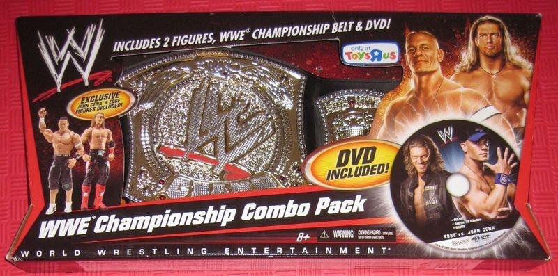 Wwe Championship Combo Pack Dvd Included Exclusive John Cena