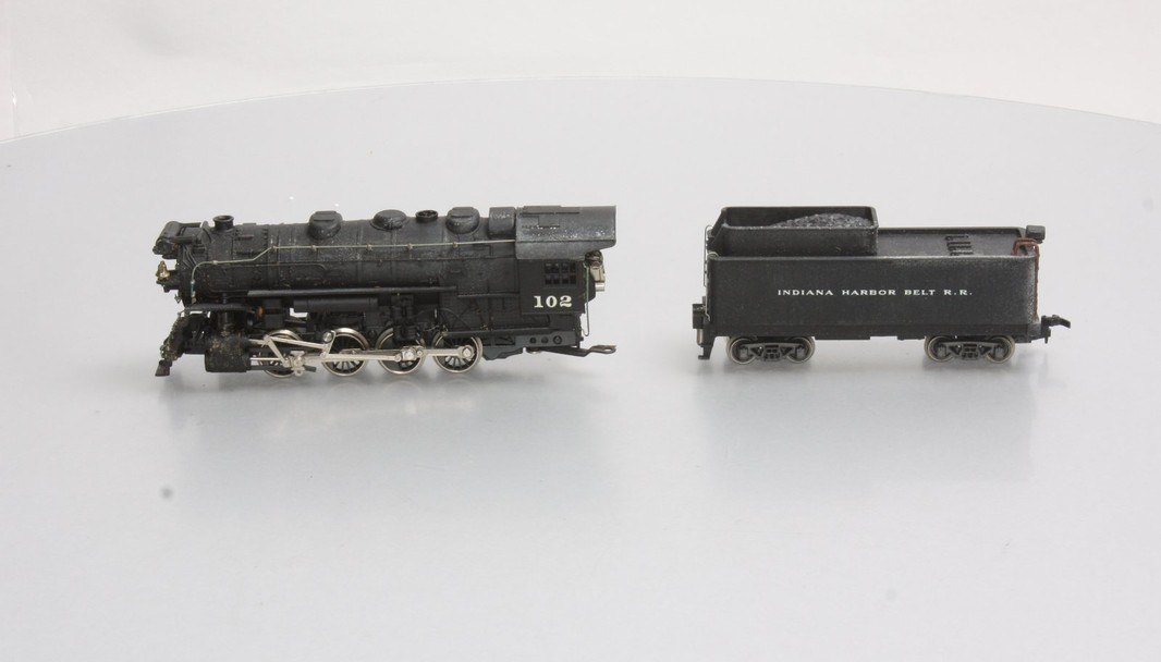 AHM 5082 IHB 0-8-0 Steam Locomotive Tender #102 - - Trainz