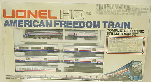 Lionel 5-2586 HO Scale Freedom Train Set - - Trainz Auctions