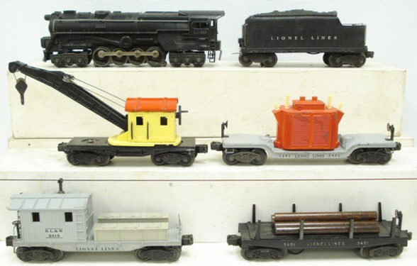 Lionel 1441ws 2020 1947 Work Train Set - - Trainz Auctions