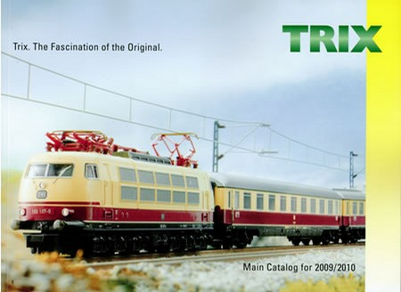Trix 17792 2009/2010 Trix Catalog - - Trainz Auctions