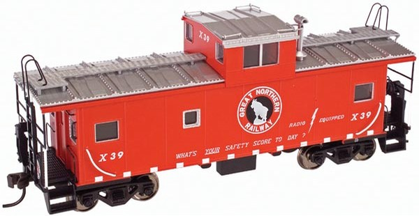 Atlas 6656 O Scale Great Northern Standard Caboose (3 Rail