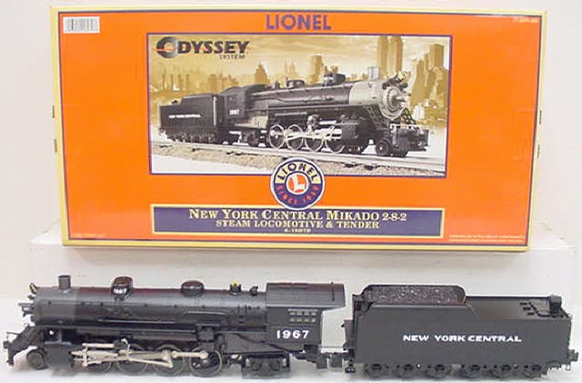 Lionel 6-18079 NYC Mikado 2-8-2 Steam Locomotive & Tender