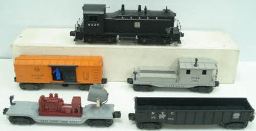 Lionel 1457b 6220 Diesel Freight Train Set W/4 Cars