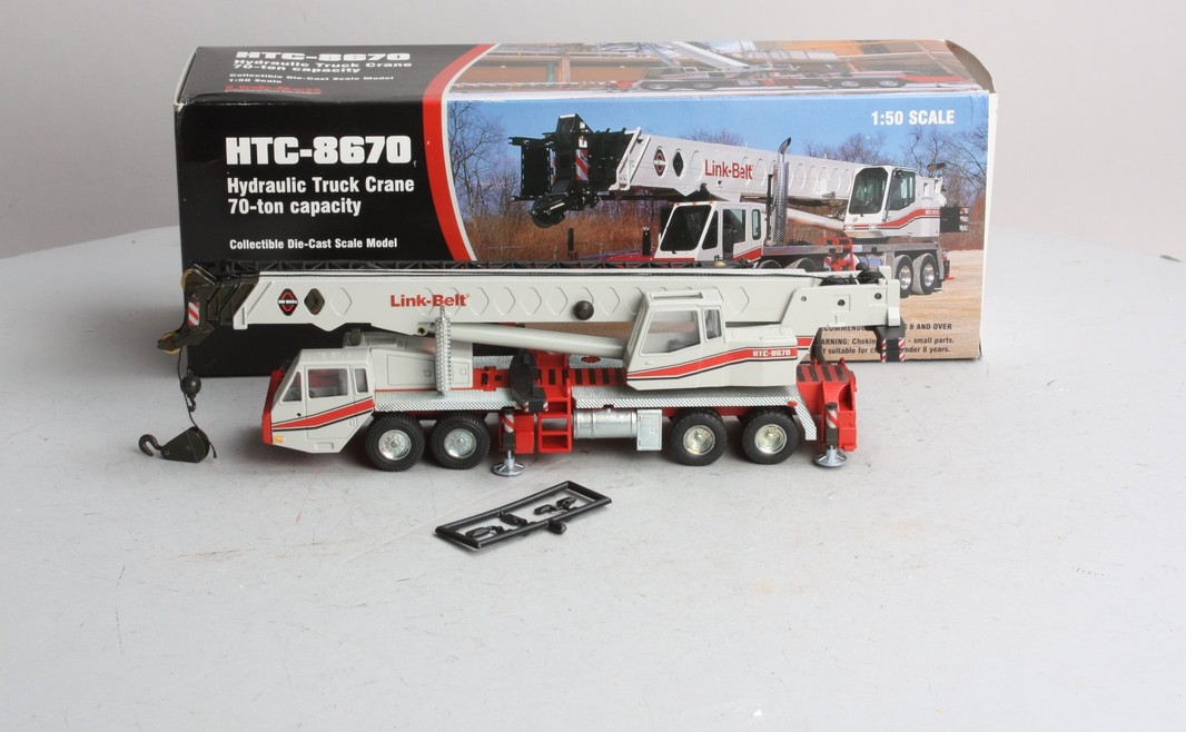 Link-Belt HTC-8670 Hydraulic Truck Crane Die-Cast Model - - Trainz ... b933487abaaa