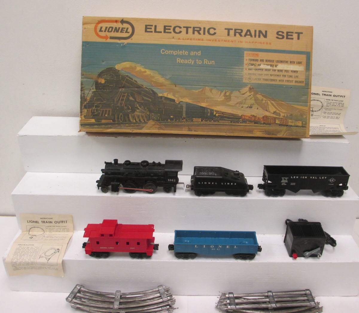 Lionel 19500 Steam Freight Train Set - - Trainz Auctions
