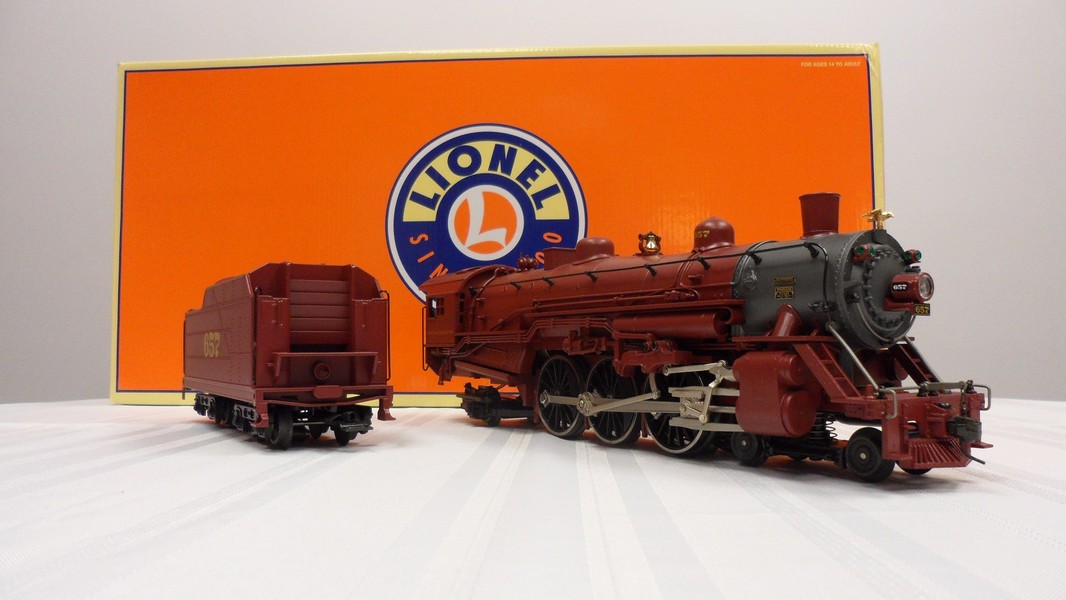 Alton Limited LEGACY Scale 4-6-2 Pacific Steam Locomotive
