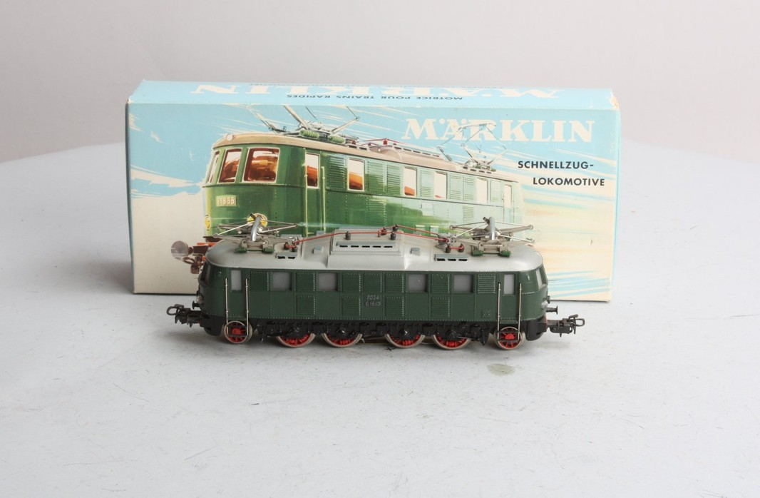 Marklin 3024 Green HO Electric Loco  - - Trainz Auctions