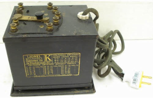 how to connect lionel transformer