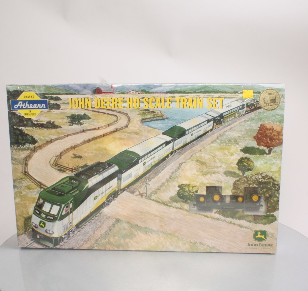 Athearn 99071 John Deere HO Scale Train Set - - Trainz Auctions