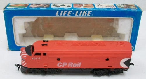 Life Like 8318 HO Scale Cp Rail No  4056 Powered Diesel