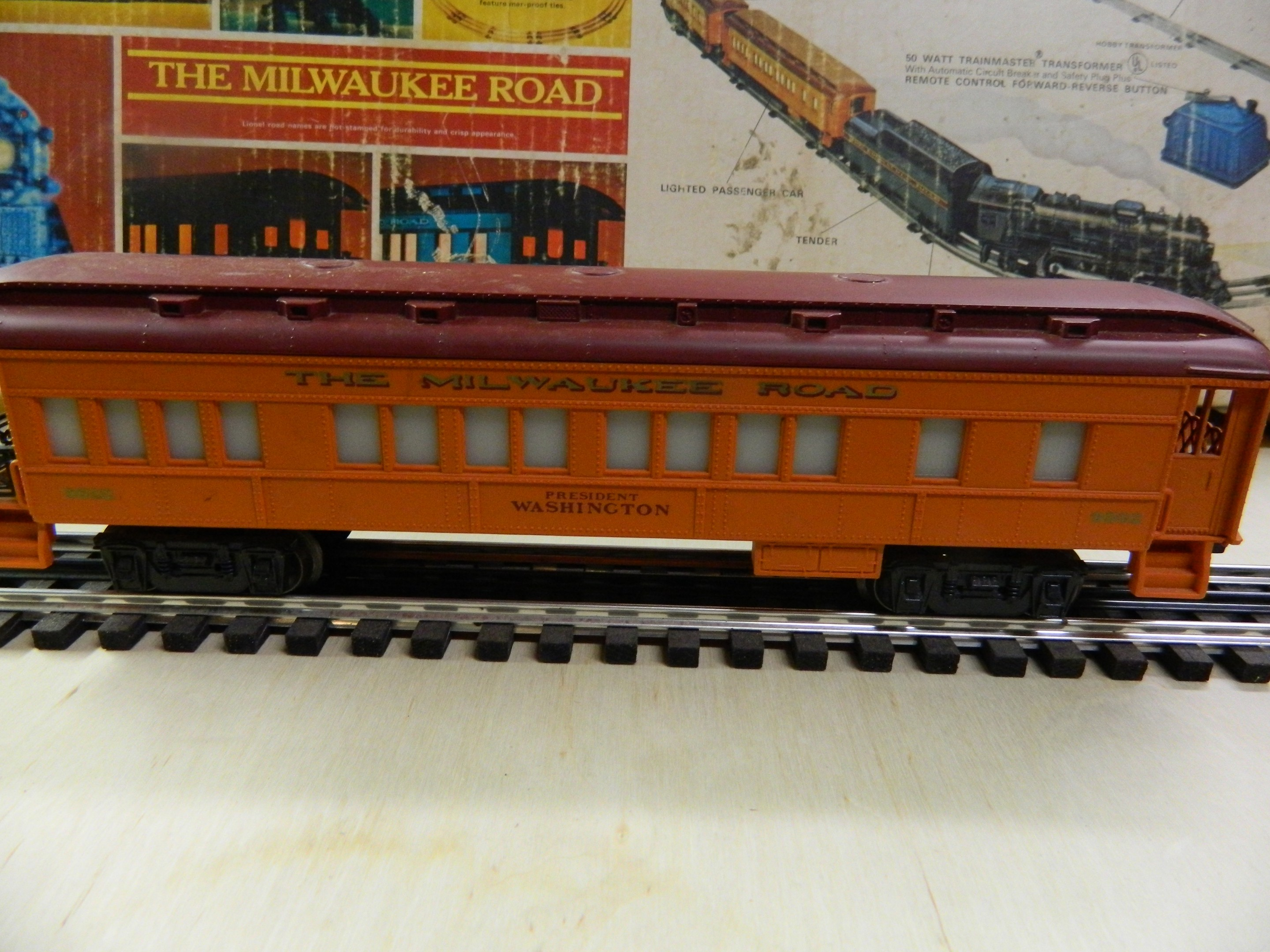 Lionel 6-9502 Milwaukee Road Observation Car - - Trainz Auctions