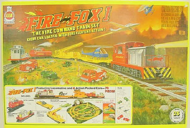 AHM 10150 Fire Fox HO Scale Train Set - - Trainz Auctions