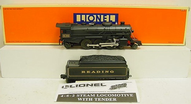 Lionel 6-18639 Reading 4-6-2 Steam Loco & Tender - - Trainz