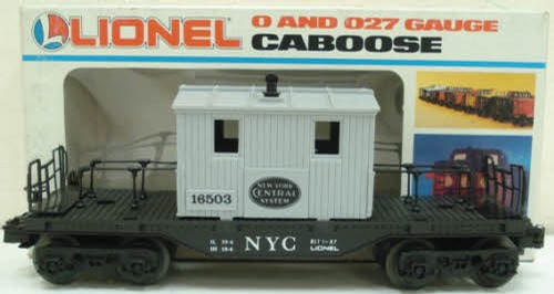 Lionel 6-16503 NYC Transfer Caboose - - Trainz Auctions