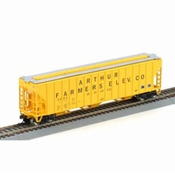 Athearn 92761 HO Rtr Fmc 4700 Covered Hopper - - Trainz Auctions