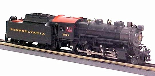 MTH 20-3055-1 Pennsylvania 2-8-0 H9 Consolidation Steam