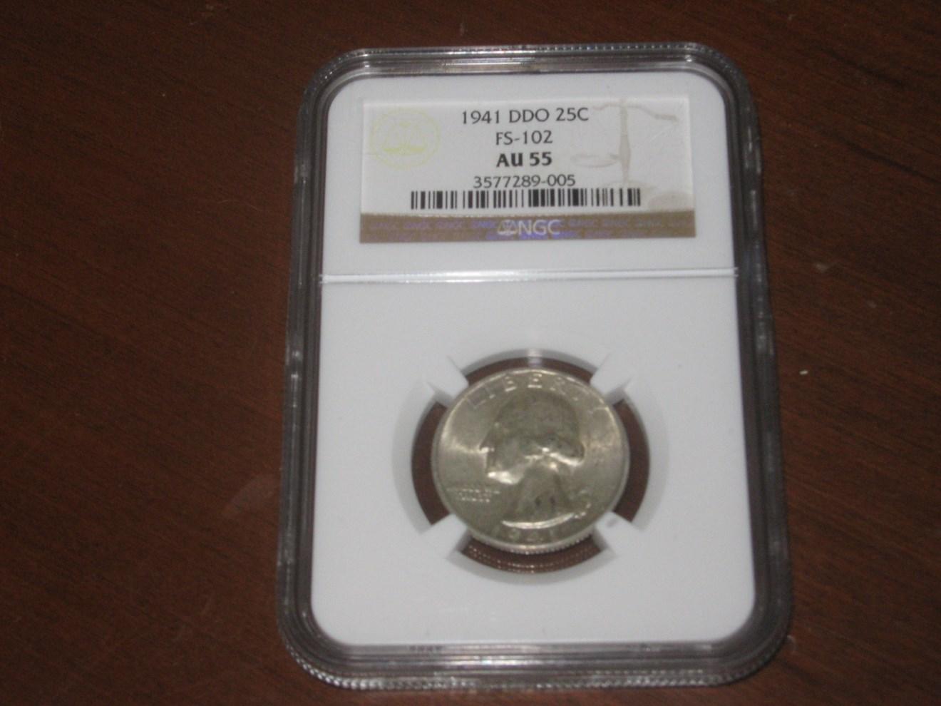 Double Die Obverse FS-102 Coin Details - Quarter Errors & Varieties