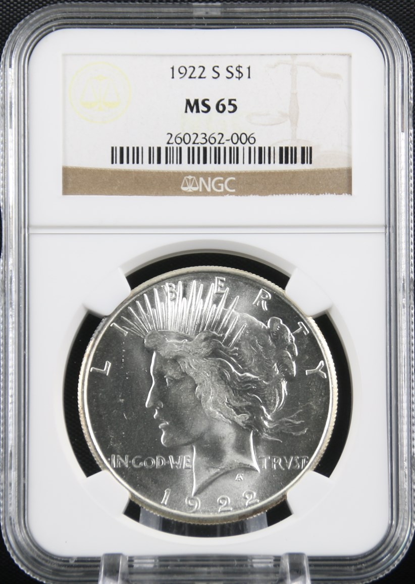 1922-S Coin Details - JJ&J