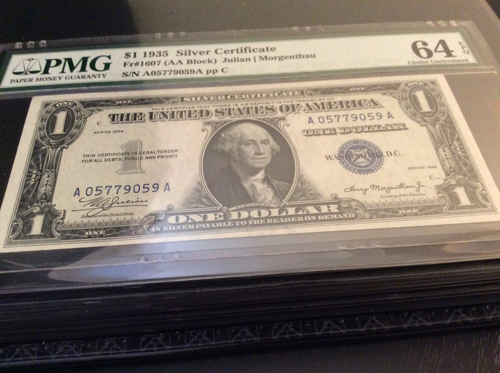 Educational thread: Series 1935 $1 Silver Certificates. - Paper ...